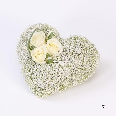 Heart Casket Adornment *