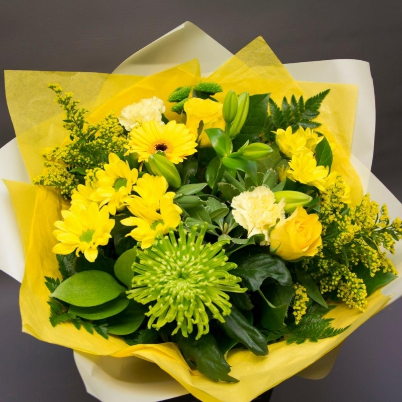 Millers Yellow Bespoke Bouquet